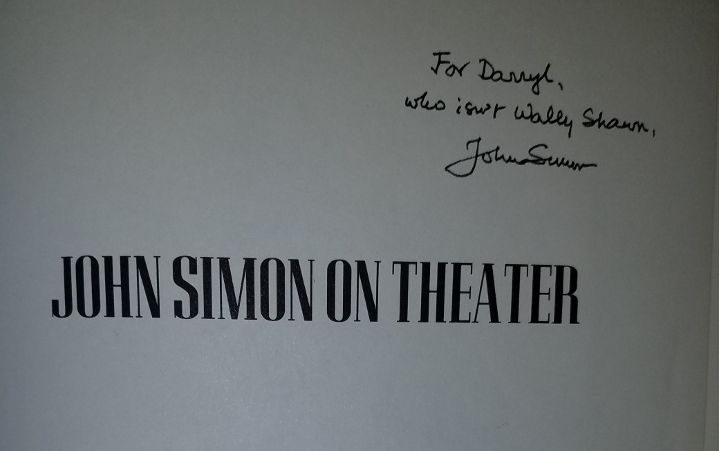 John Simon book