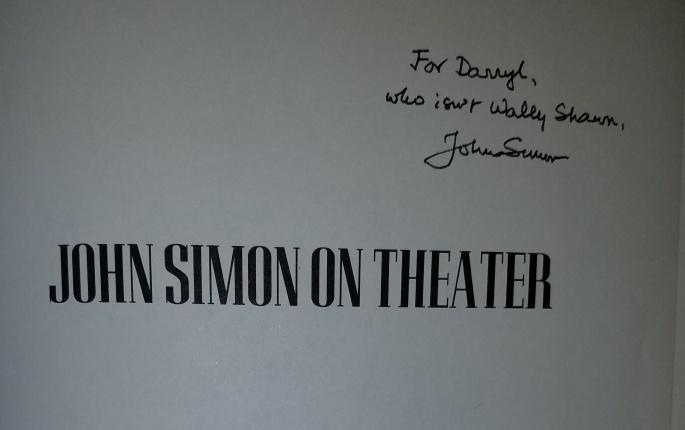 John Simon book